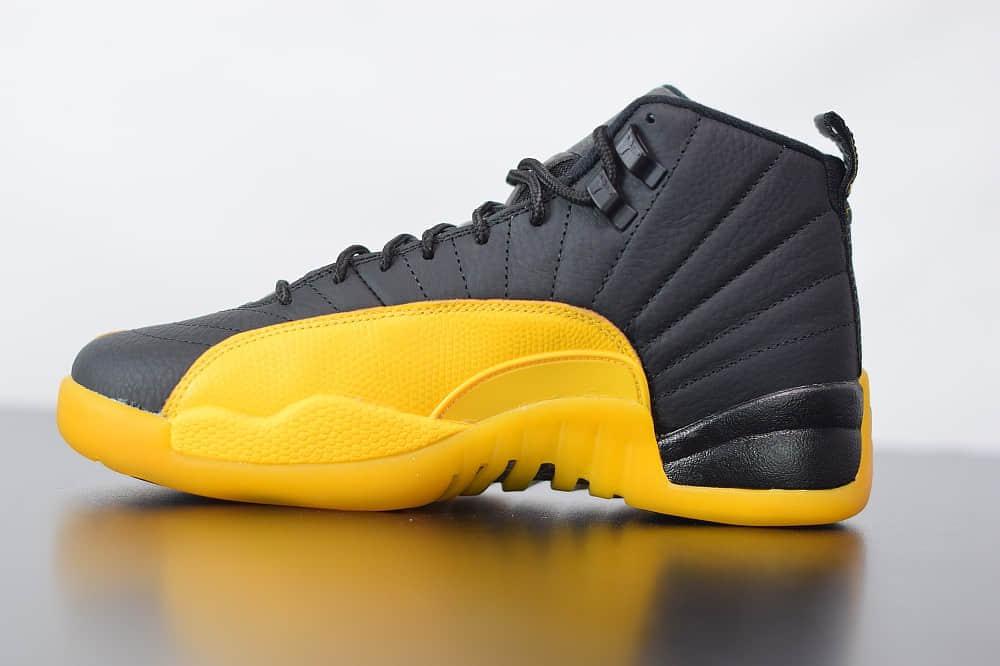 乔丹Air Jordan 12 Retro AJ12 乔12黑金运动篮球鞋纯原版本 货号:130690-070