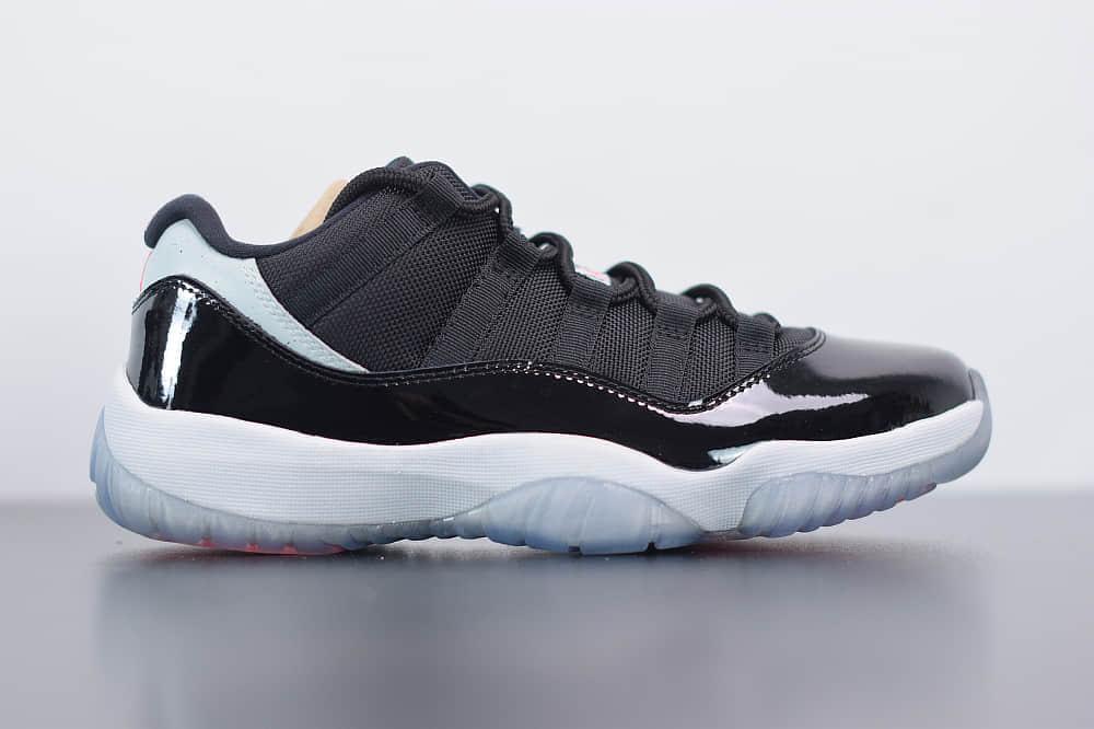 """乔丹Air Jordan 11 Low """"Infrared 23""""AJ11红外线低帮篮球鞋纯原版本 货号:528895-023"""
