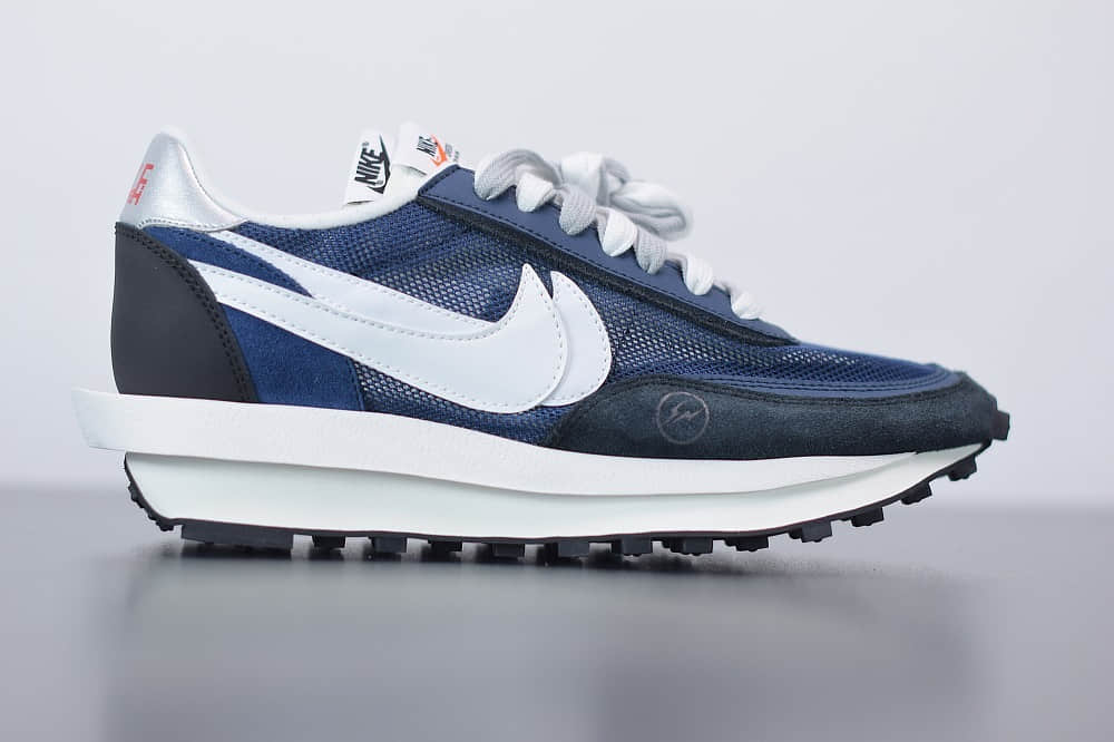耐克Fragmentdesign x Sacai x Nike LdWaffle藤原浩三方联名双钩Swoosh解构风运动休闲跑步鞋纯原版本 货号:BV0073-008