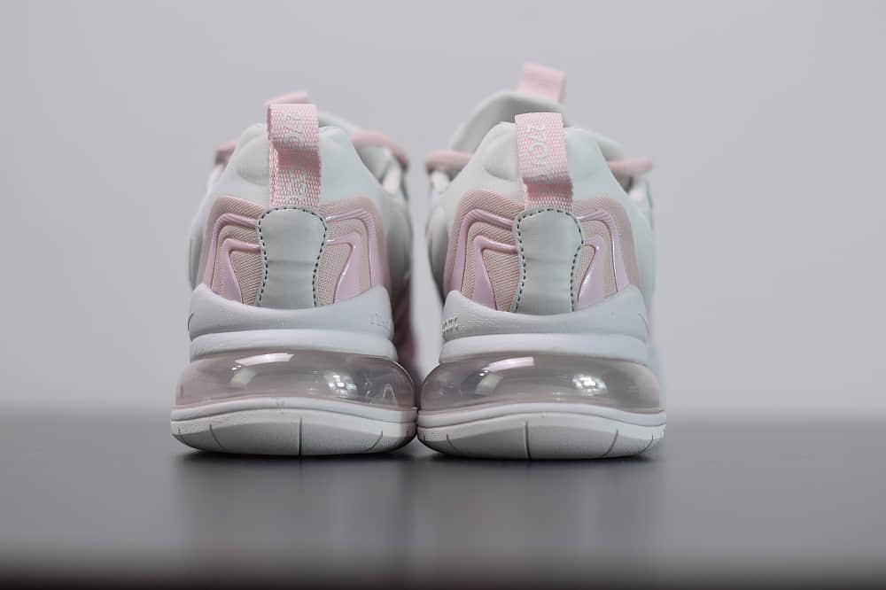 耐克Nike Air Max 270 React ENG白粉气垫运动鞋纯原版本 货号:CK2595-001