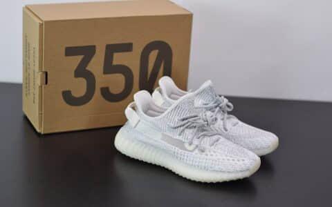 阿迪达斯ADIDAS YEZZY 350 V2白色满天星休闲慢跑鞋纯原版本 货号:EF2367
