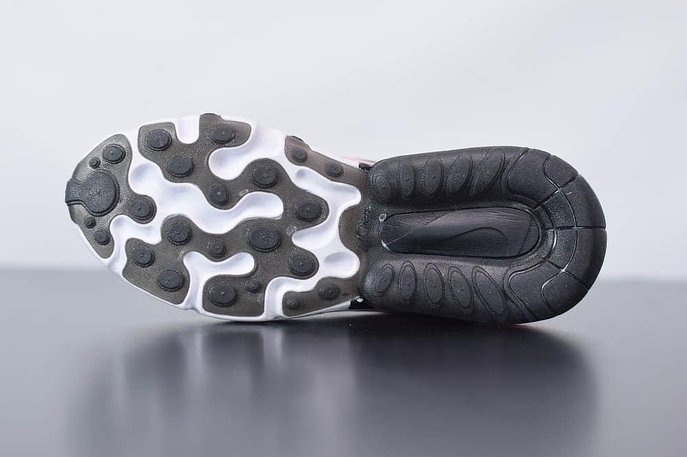 耐克Nike Air Max 270 React黑粉白色气垫运动鞋纯原版本 货号:AT6174-005