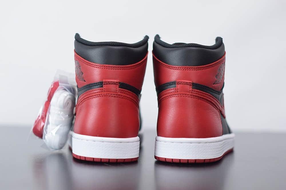 乔丹Air Jordan 1 High 85 Varsity Red高帮AJ1反转黑红禁穿纯原版本篮球鞋 货号:BQ4422-600