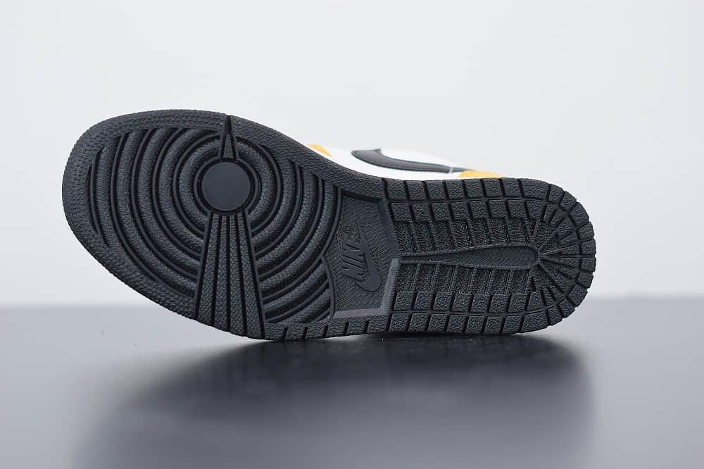 乔丹Air Jordan 1 Low湖人低帮配色休闲板鞋纯原版本 货号:CZ4776-107