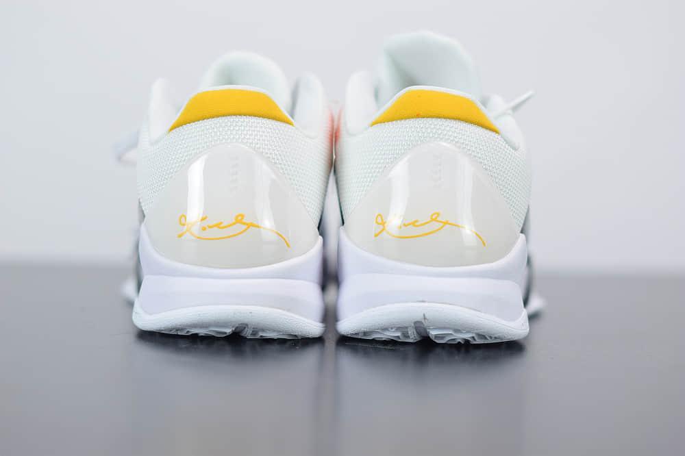 耐克Zoom Kobe V Protro科比5代黑白李小龙低帮篮球鞋纯原版本 货号:CD4991-101