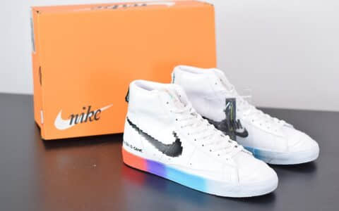 耐克Nike Blazer Mid '77 Vintage开拓者高帮电玩小子休闲板鞋纯原版本 货号:DC3280-101