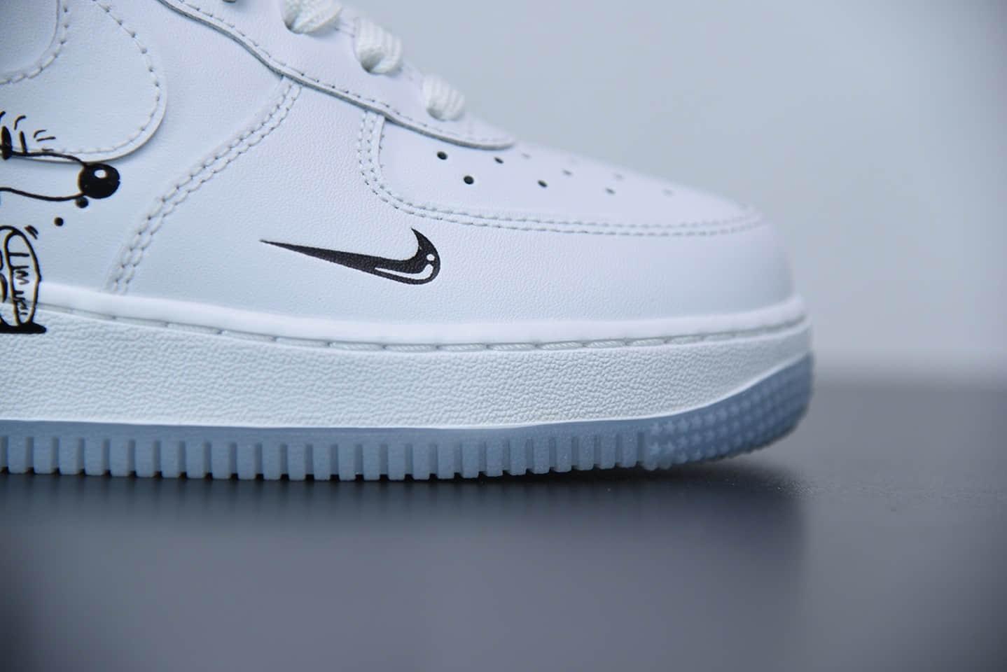 耐克Nike Air Force 1 Earth Day Pack世界地球日限定涂鸦板鞋纯原版本  货号:CI5545-100