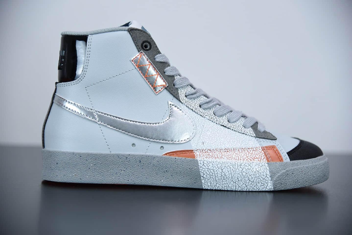 """耐克Nike Blazer Mid '1977 Vintage """"今朝明朝"""" 经典开拓者高帮百搭休闲运动板鞋纯原版本 货号:DC9170-001"""