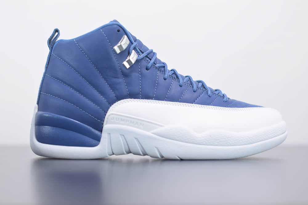 乔丹Air Jordan 12 Indigo靛青蓝男子文化篮球鞋纯原版本  货号:130690-404