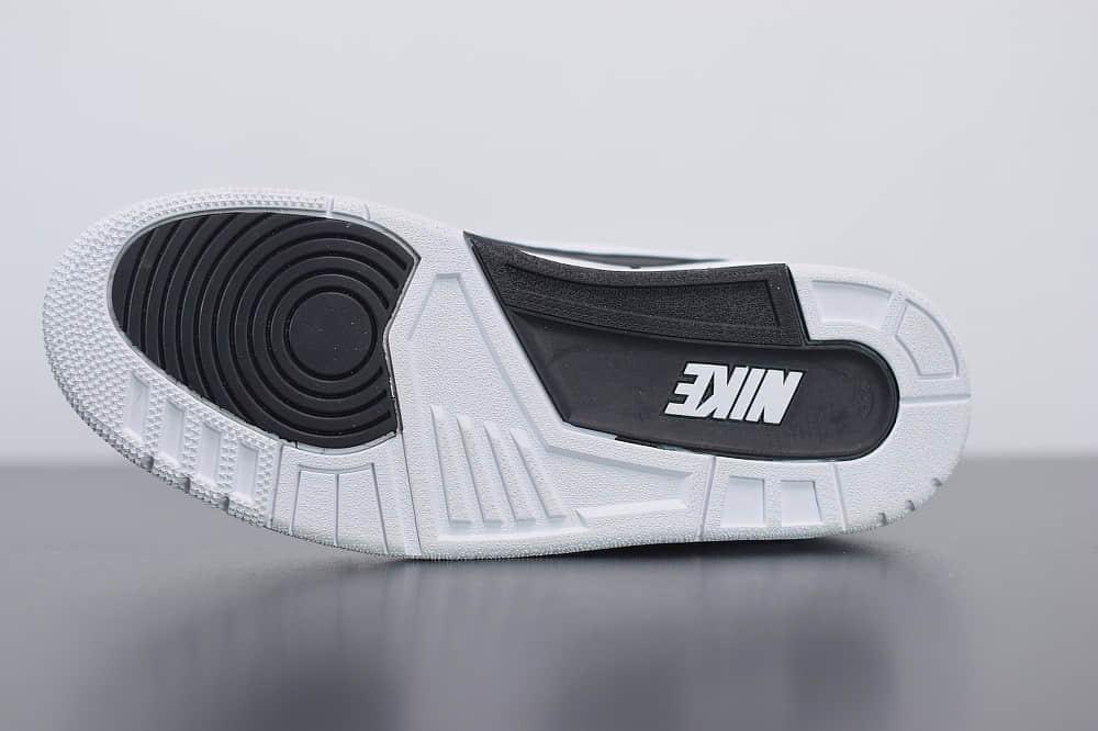 乔丹Fragment x AIR Jordan 3 藤原浩闪电联名款篮球鞋纯原版本 货号:DA3595-100