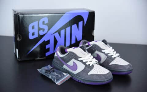 耐克 Dunk Low Pro SB Purple Pigeon 紫鸽子低帮休闲板鞋纯原版本 货号:304292-051