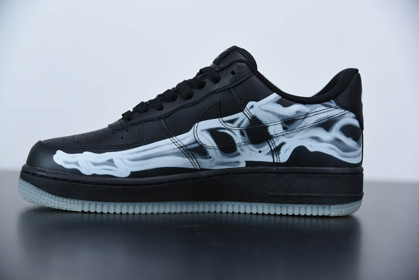 耐克Nike Air Force 1 Skeleton 骨骼万圣节骨头低帮板鞋纯原版本 货号:BQ7541 001