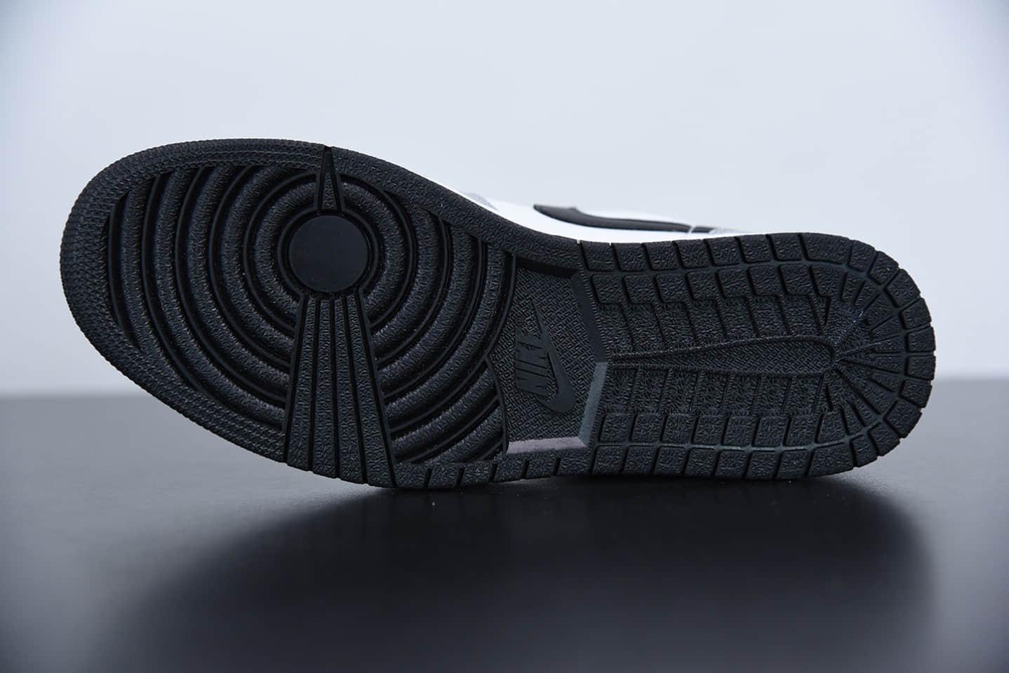 """乔丹Air Jordan 1 Low """"Light Smoke Grey""""低帮小迪奥烟灰板鞋纯原版本 货号:553558-030"""