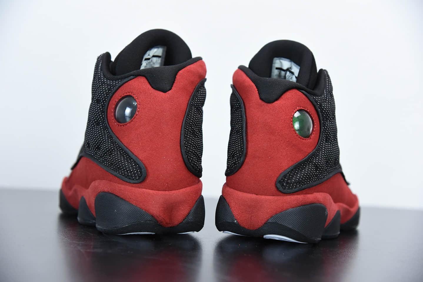 乔丹Air Jordan 13 Retro Bred 黑红休闲运动篮球鞋纯原版本 货号:414571-004