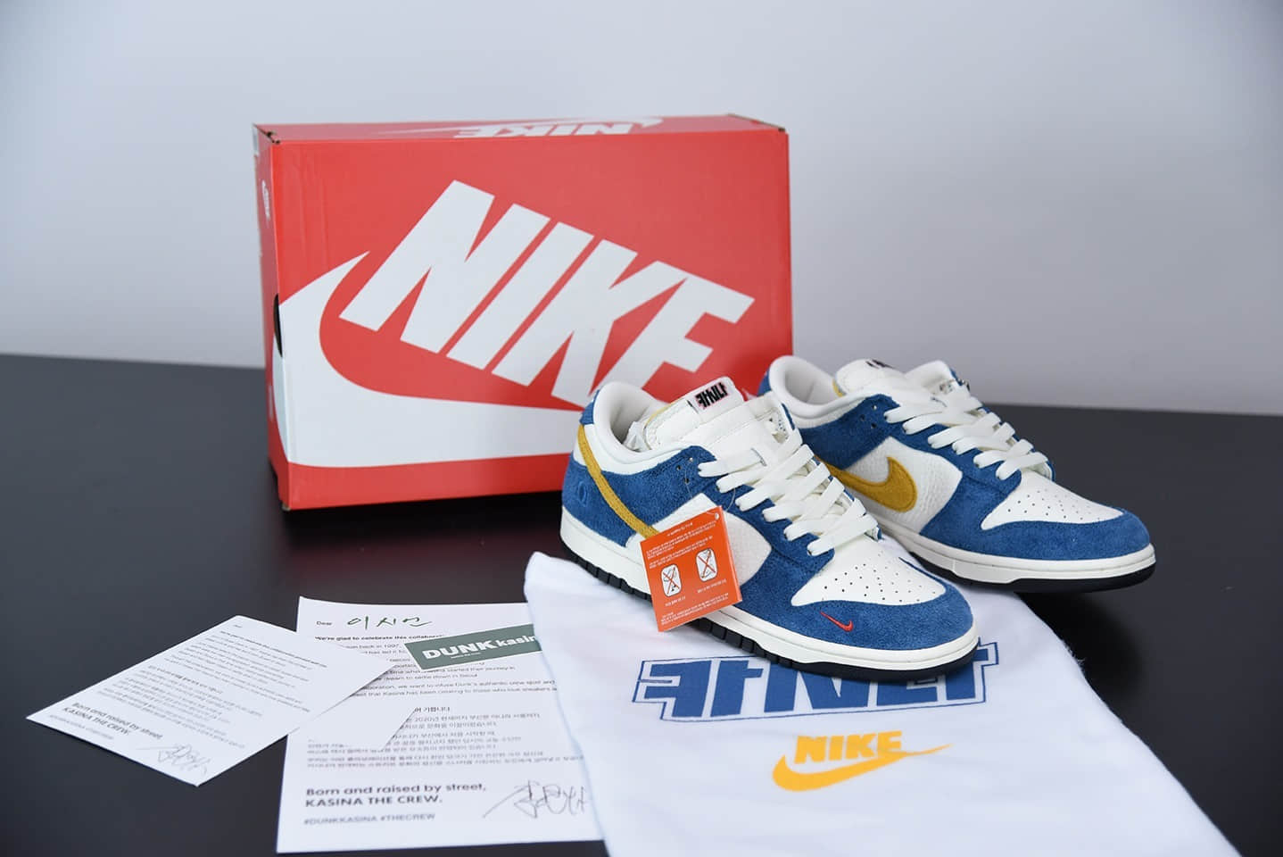 耐克Kasina x Nike SB Dunk Low韩国限定釜山行低帮休闲鞋纯原版本 货号:CZ6501-100