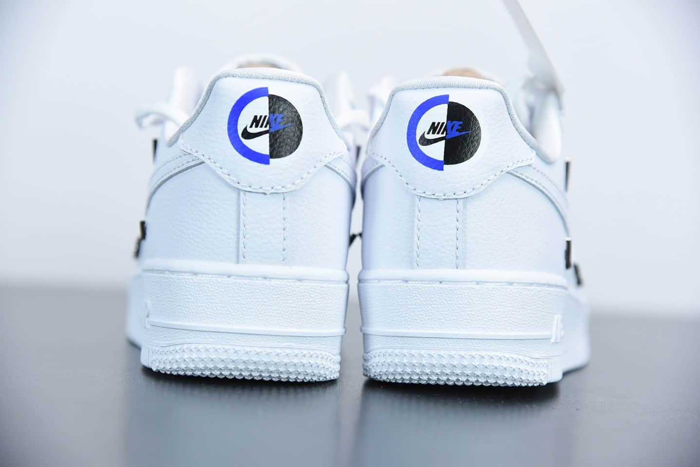 """耐克Nike Air Force 1'07 Low All White 空军一号""""联名小银勾""""低帮休闲板鞋纯原版本货号:CT1990-100"""