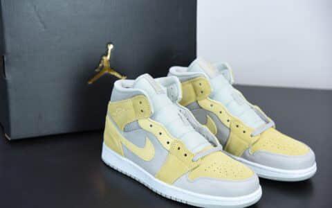 乔丹Air Jordan 1 Mid SE芝士奶酪中帮文化篮球鞋纯原版本 货号:DA4666-001