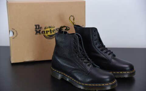 马汀博士Dr. Martens Bex 8-Eye Boot 1460黑色高帮系列复古八孔系带全皮工装马丁靴纯原版本