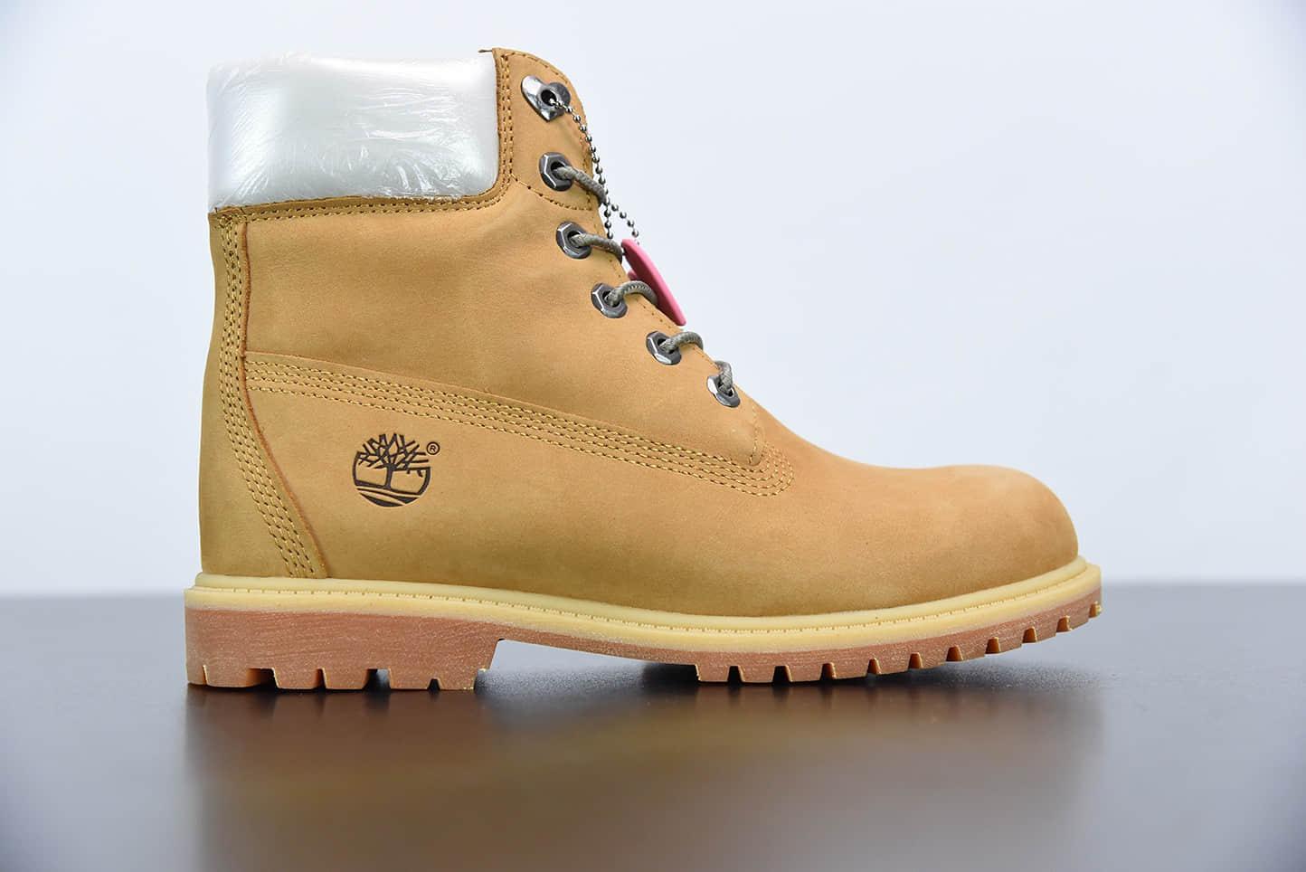 添柏岚Timberland米黄六孔情人节限定爱心系列工装鞋纯原版本