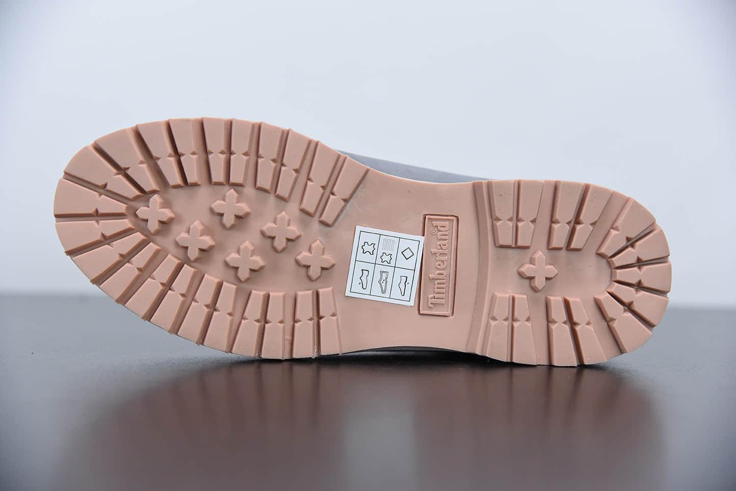 添柏岚Timberland灰蓝色六孔情人节限定爱心系列工装鞋纯原版本
