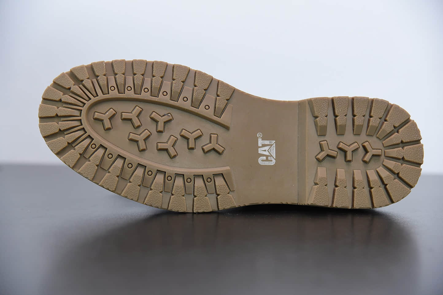 卡特CAT FOOTWEA棕绿六孔工装休闲复古潮鞋纯原版本