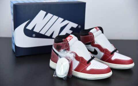 """乔丹Air Jordan 1 Retro OG""""Chicago"""" 全新芝加哥高帮文化篮球鞋纯原版本 货号:DA2728-100"""