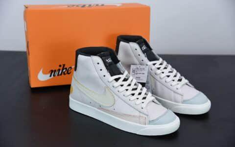 耐克Nike Blazer Mid Day of the Dead 开拓者墨西哥亡灵节配色中帮休闲板鞋纯原版本 货号:DC5185-133