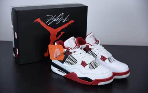 乔丹 Air Jordan 4 Retro OGFire Red火焰红中帮复古休闲运动文化篮球鞋纯原版本 货号:DC7770-160