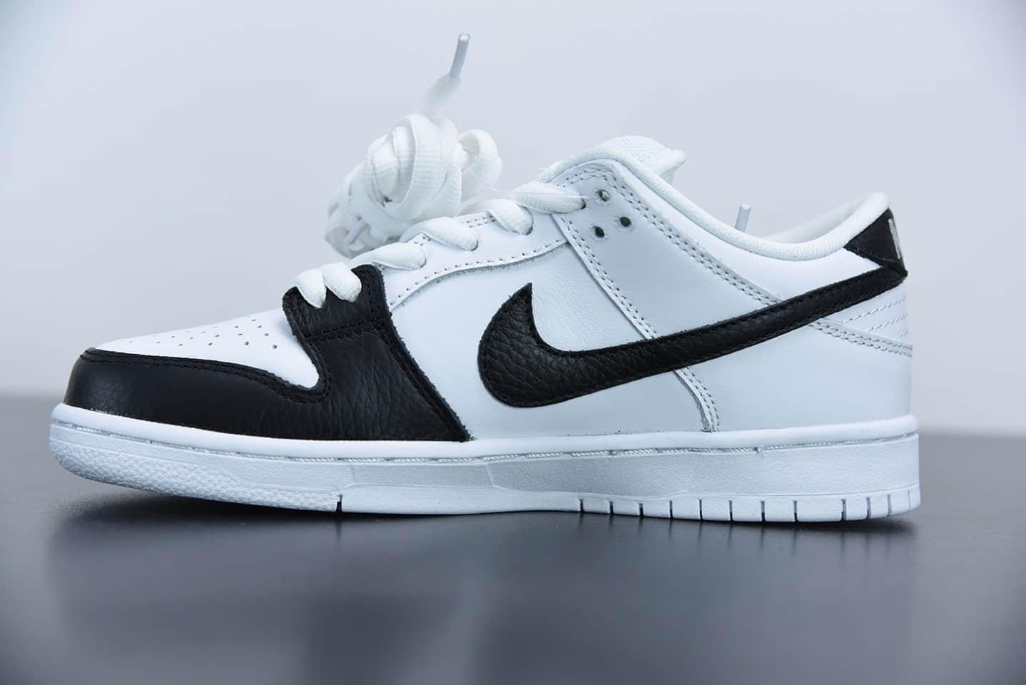 耐克Nike SB Dunk Low PremiumYin Yang黑白阴阳太极扣篮系列低帮休闲运动滑板板鞋纯原版本 货号: 313170-023