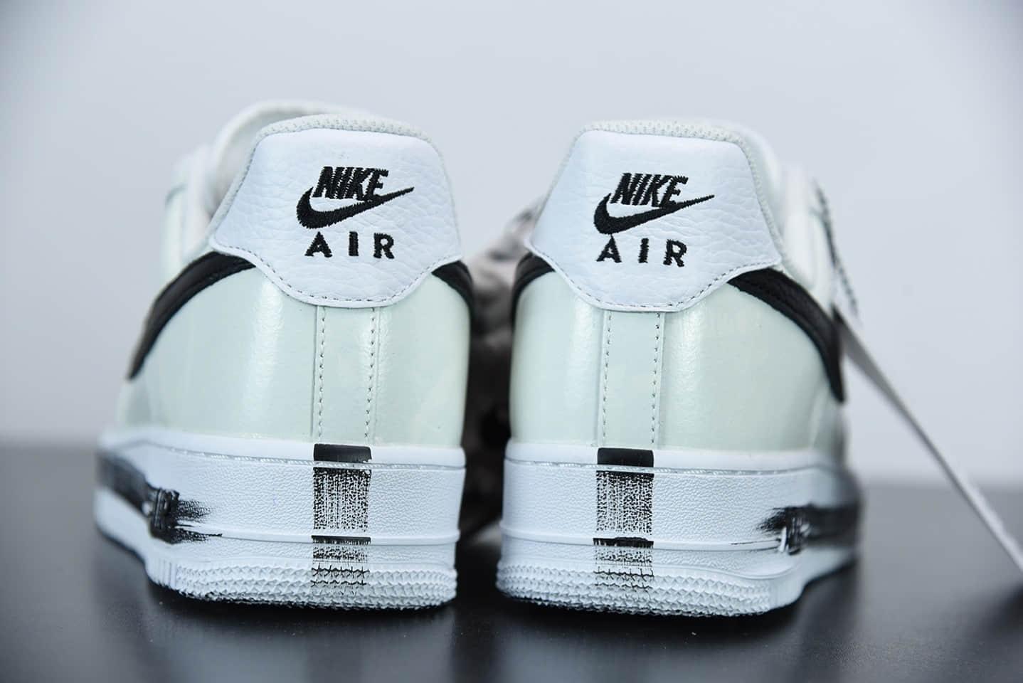 耐克Nike AF1 x PEACEMINUSONE 权志龙涂鸦2.0刮刮乐板鞋纯原版本 货号: DD3223-100