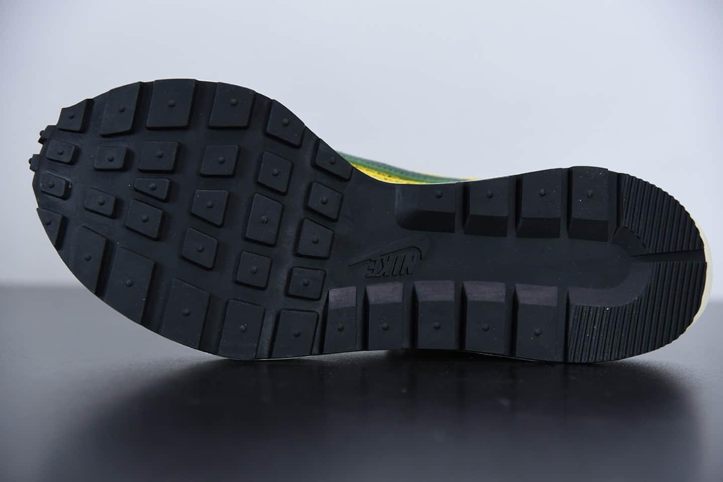 耐克Sacai X NIKe regasus vaporrly SP 华夫三代3.0走秀黄绿重磅联名款纯原版本 货号:CV1363-700