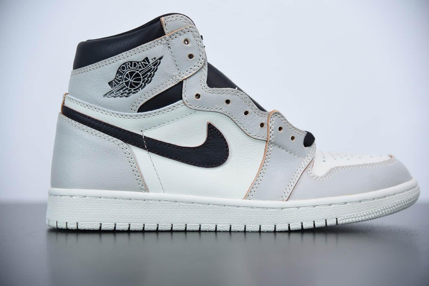 乔丹Air Jordan 1 x Nike Sb High OG Light Bone白黑刮刮乐篮球鞋纯原版本 货号:CD6578-006