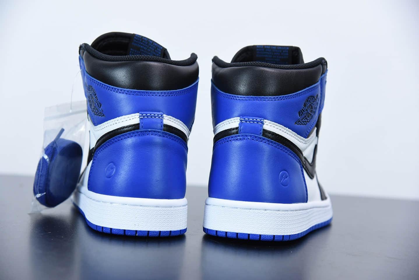 """乔丹Air Jordan 1 """"Retro High"""" OG AJ1 藤原号大闪电联名鞋款纯原版本 货号:716371-040"""
