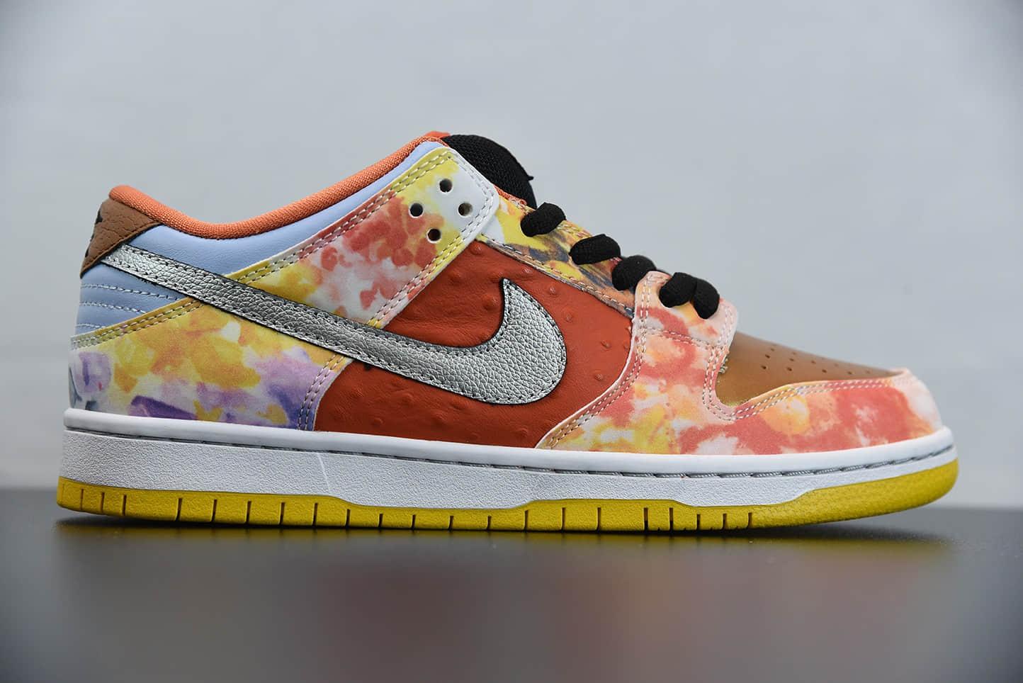 """耐克Nike Dunk SB Low """"CNY""""""""食神鸳鸯""""原盒原鞋带低帮运动休闲板鞋纯原版本 货号:CV1628-800"""