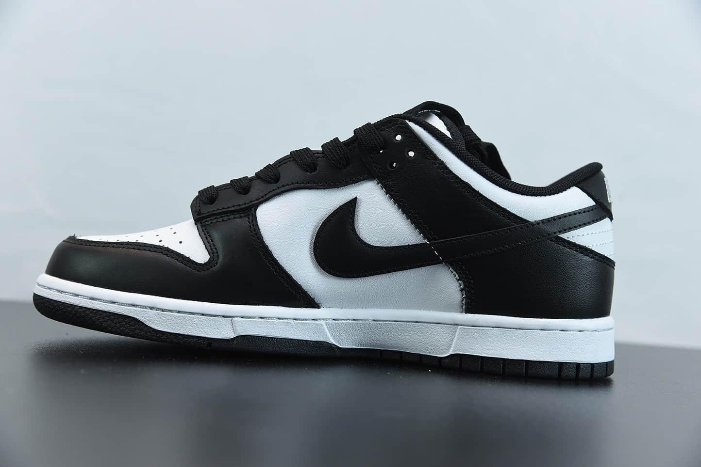 耐克Nike SB Dunk Low RetroWhiteBlack黑白熊猫扣篮系列低帮休闲运动滑板板鞋纯原版本 货号:DD1391-100