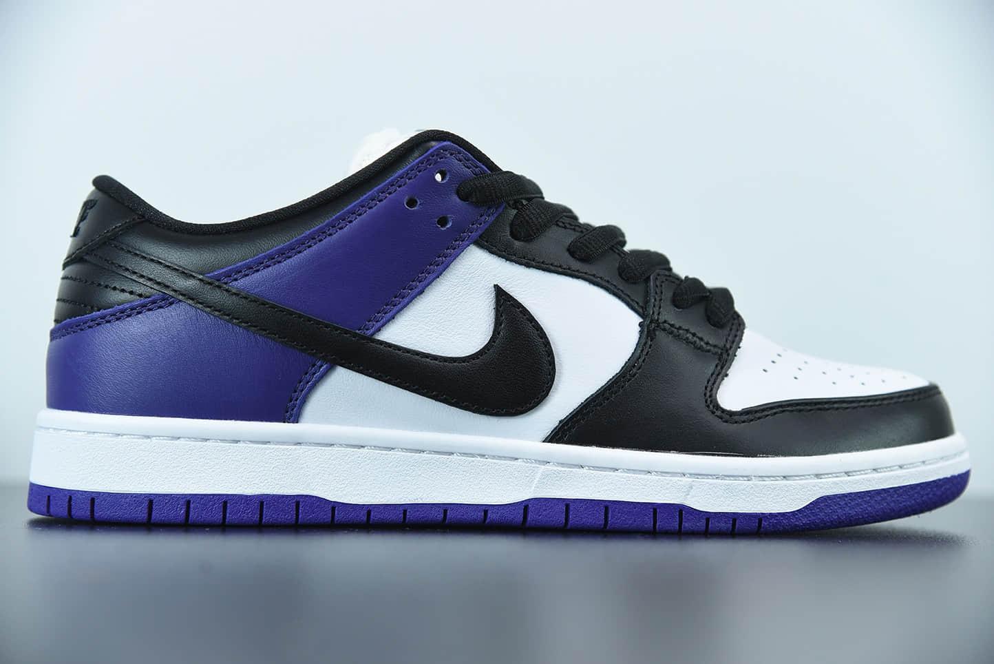 耐克Nike SB Dunk LowCourt Purple恶人紫扣篮系列低帮休闲运动滑板板鞋纯原版本 货号:BQ6817-500