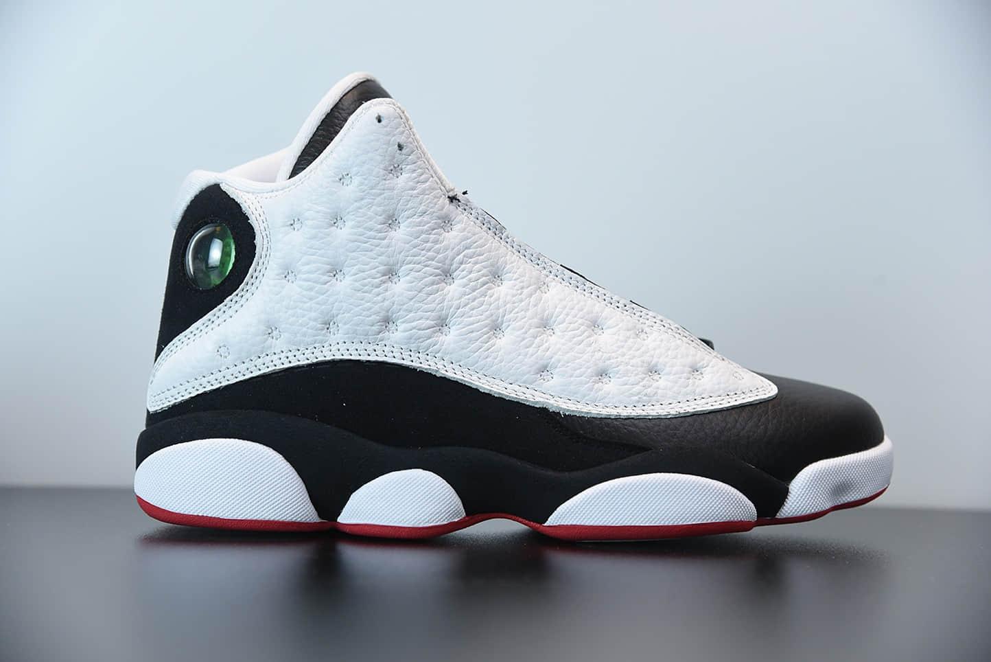 乔丹Air Jordan 13 RetroHe Got Game黑白熊猫复古中帮文化休闲运动篮球鞋纯原版本 货号:414571-104