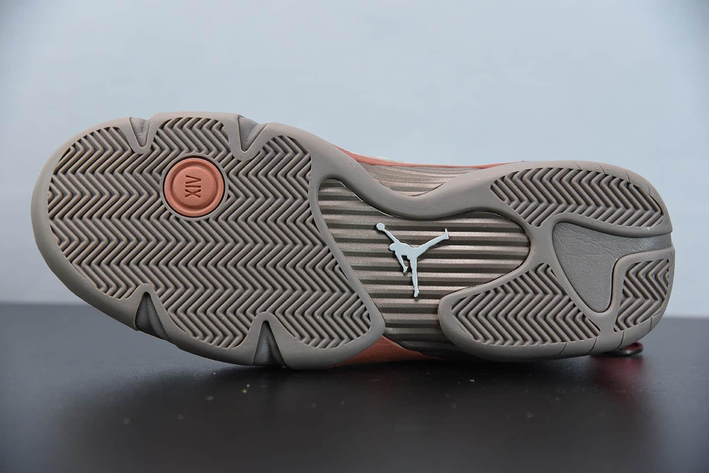 """乔丹CLOT x Air Jordan 14 Low AJ14""""中国结铜钱陈冠希兵马俑联名篮球鞋纯原版本 货号:DC9857-200"""
