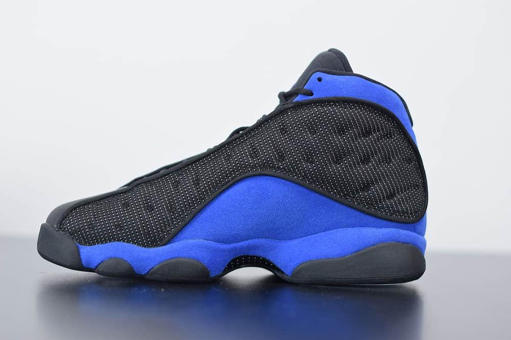 乔丹Air Jordan 13 XIIIHyper Royal皇家黑蓝复古中帮文化休闲运动篮球鞋纯原版本 货号:414571-040