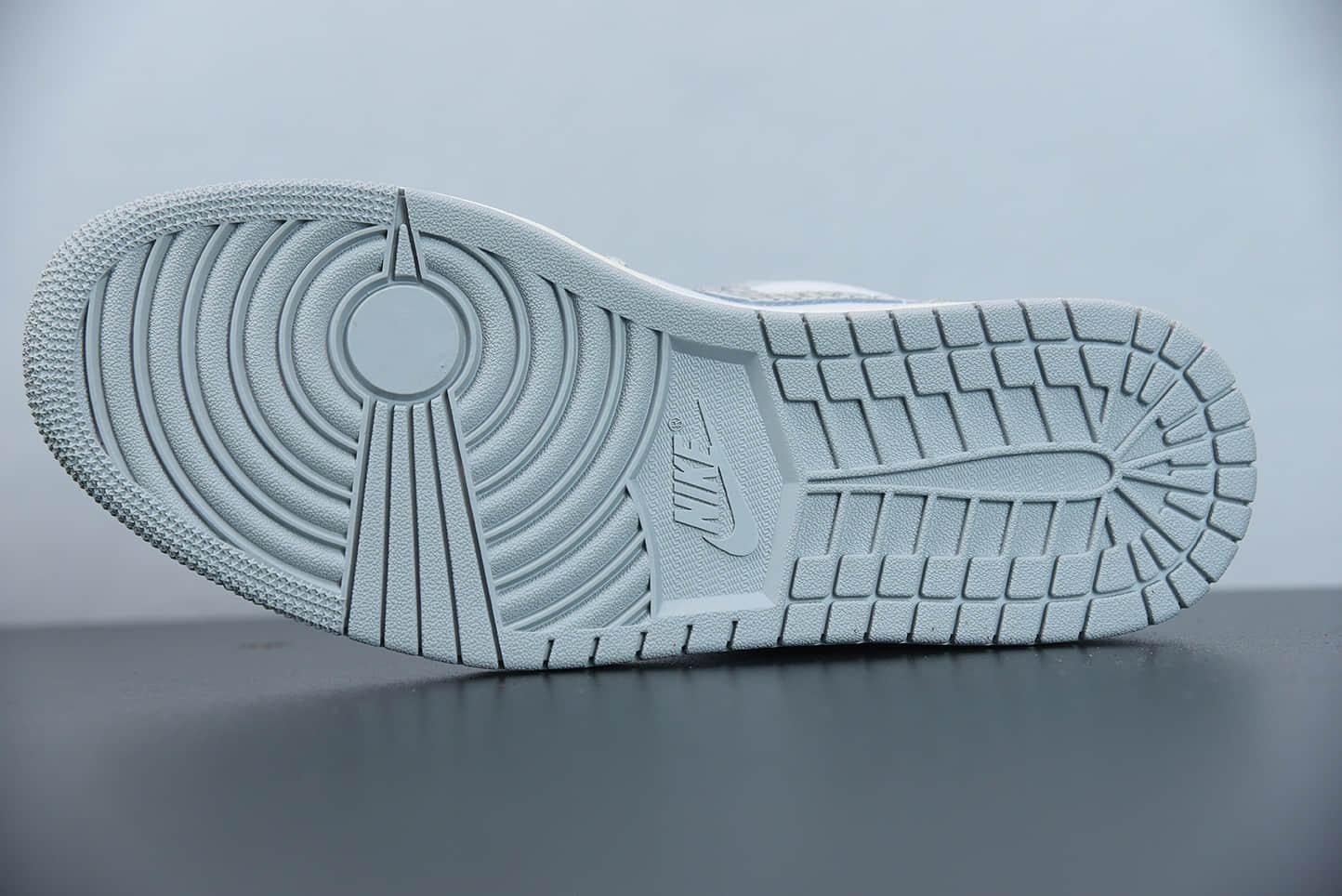 """乔丹Air Jordan 1 Low PRM""""Elephant Print""""灰白大象低帮潮流缓震运动休闲板鞋纯原版本 货号:DH4269-100"""