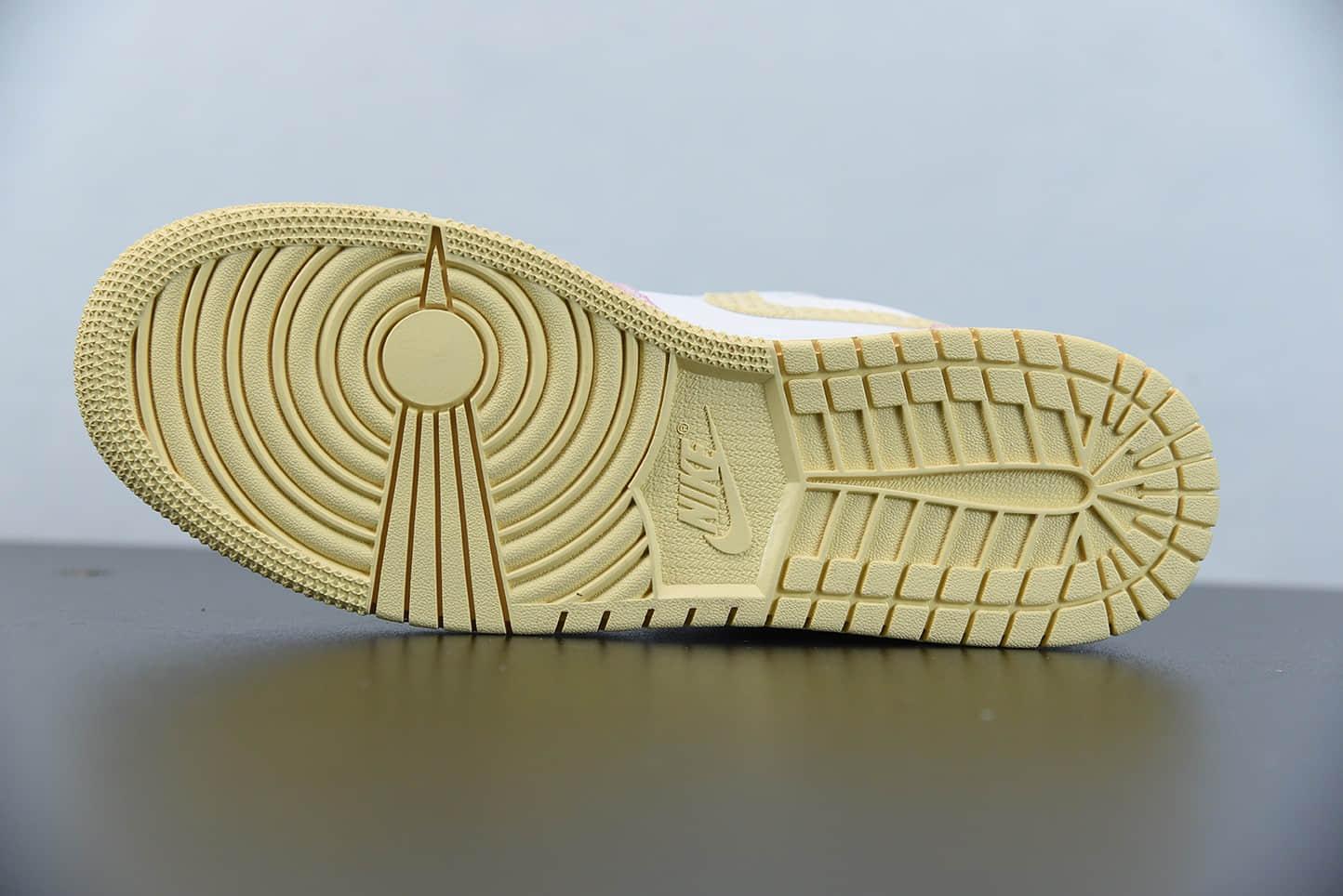 乔丹Air Jordan 1 Low GS冰淇淋低帮篮球鞋纯原版本 货号:CW7104-601