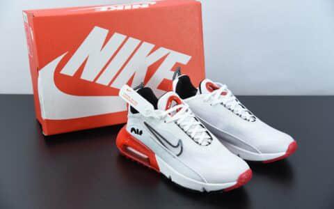 耐克Neymar x Nike Air Max 2090 白红色缓震气垫鞋耐磨防滑超透气休闲跑步鞋纯原版本 货号:DC9180-106