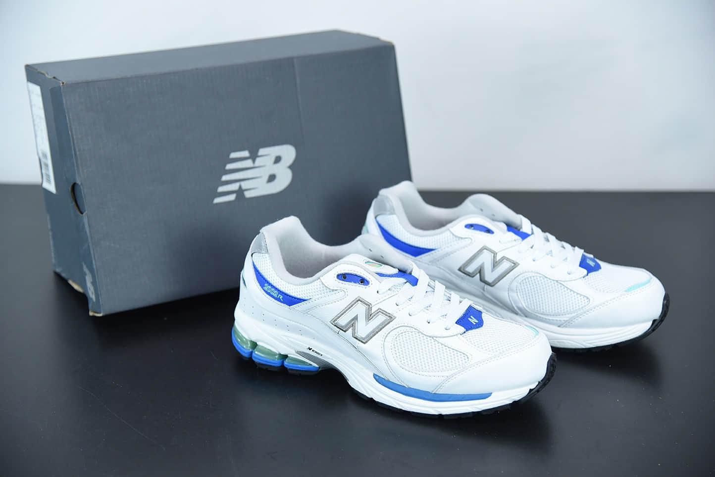 新百伦New Balance WL2002 白蓝复古休闲跑步鞋纯原版本 货号:ML2002RW