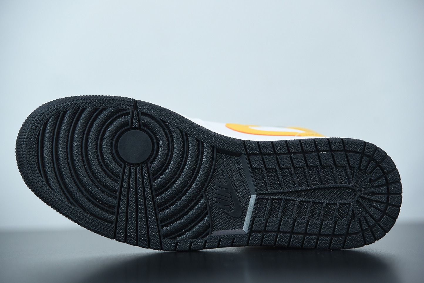 乔丹Air Jordan 1 Mid白黄中邦篮球鞋纯原版本 货号:554724-170