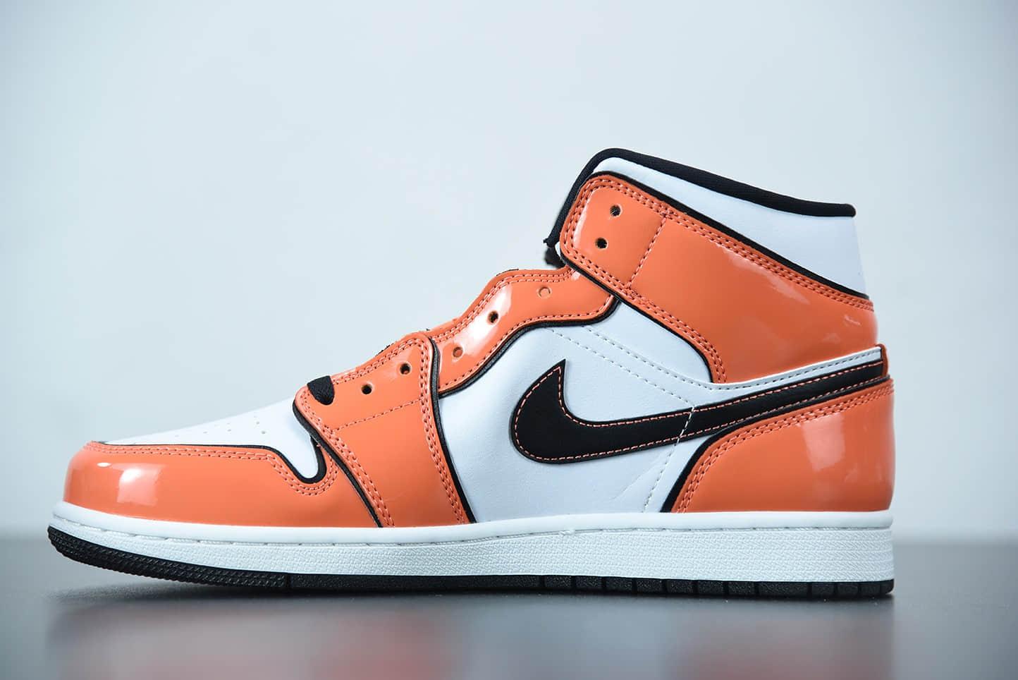 """乔丹Air Jordan 1 Mid """"Turf Orange""""二次元七龙珠悟空配色中帮篮球鞋纯原版本货号:DD6834-802"""