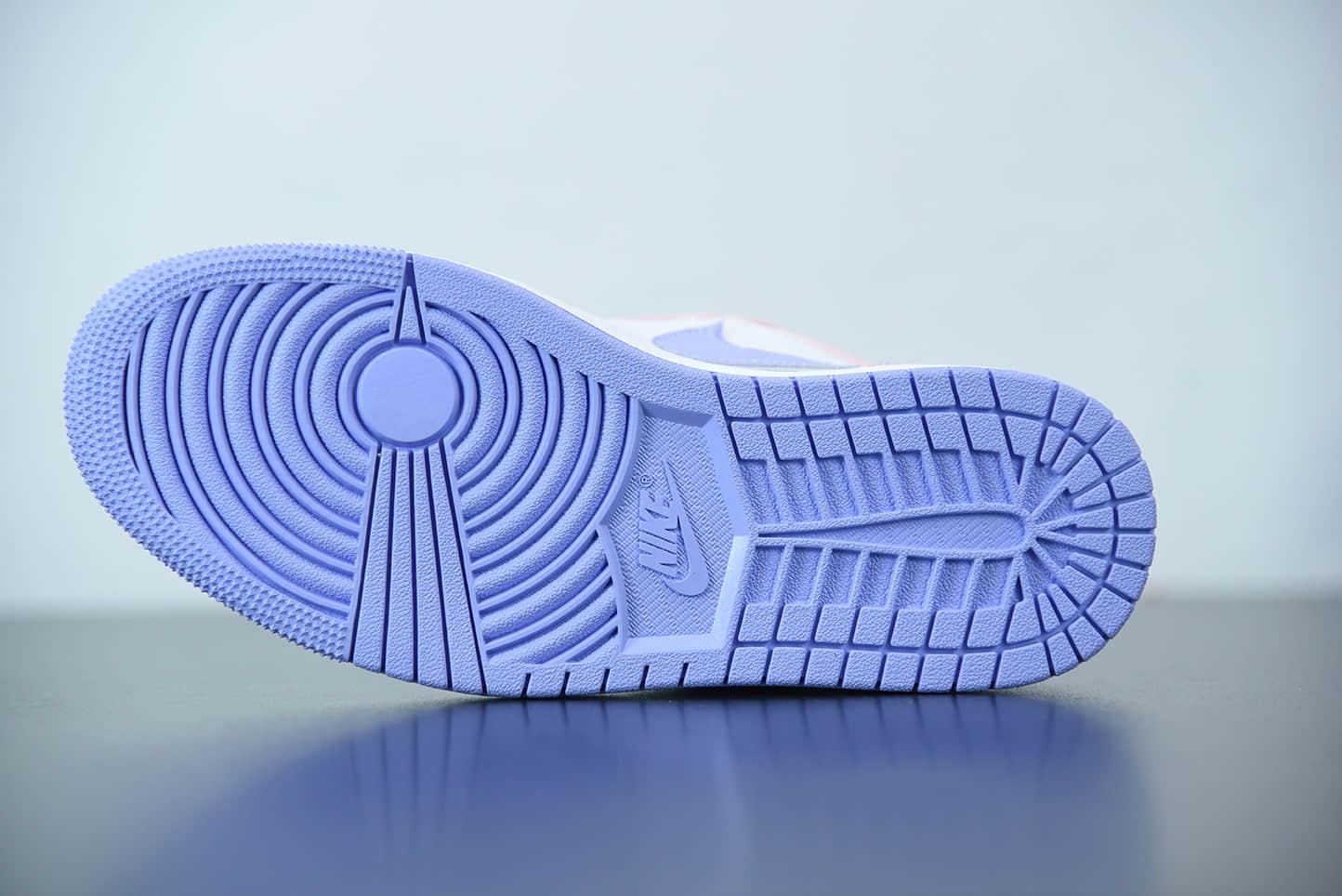 """乔丹Air Jordan 1 Low SE """"Arctic Punch""""粉白黛紫薰衣草低帮休闲板鞋纯原版本 货号:CK3022-600"""
