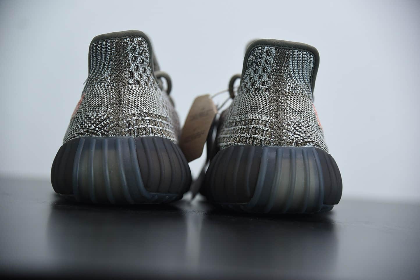 阿迪达斯Kanye West x Adidas Yeezy Boost 350 V2Ash Stone火山灰岩兵马俑配色百搭轻便爆米花中底休闲运动慢跑鞋纯原版本 货号:GW0089