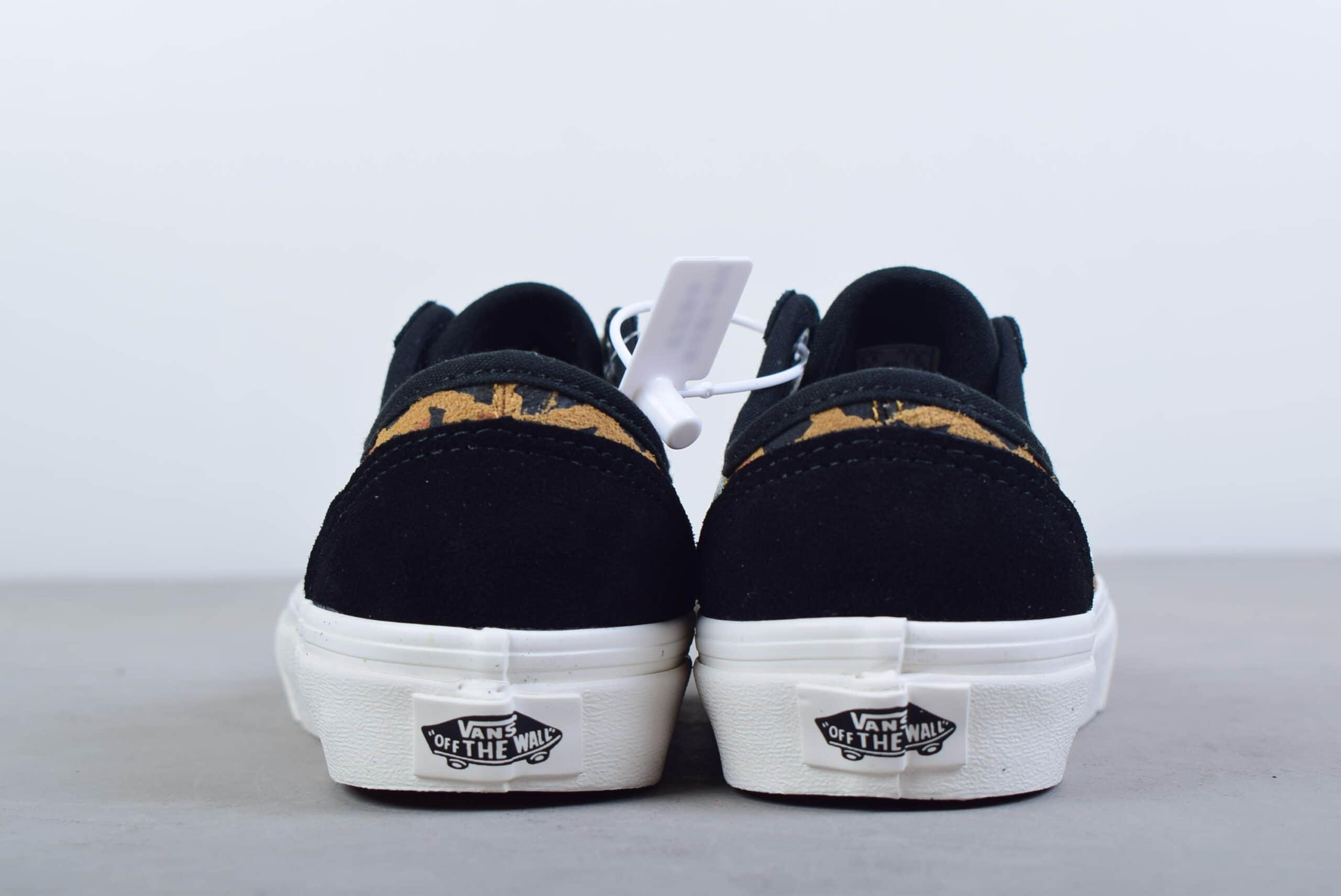 万斯VANS Style 36 豹纹印花复古低帮麂皮休闲鞋纯原版本 货号:VN0A3MVL4Y5