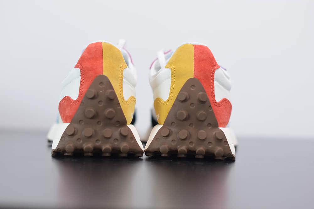 新百伦New Balance MS327系列骄傲月限定彩虹拼接复古休闲运动慢跑鞋纯原版本 货号:MS327PRD