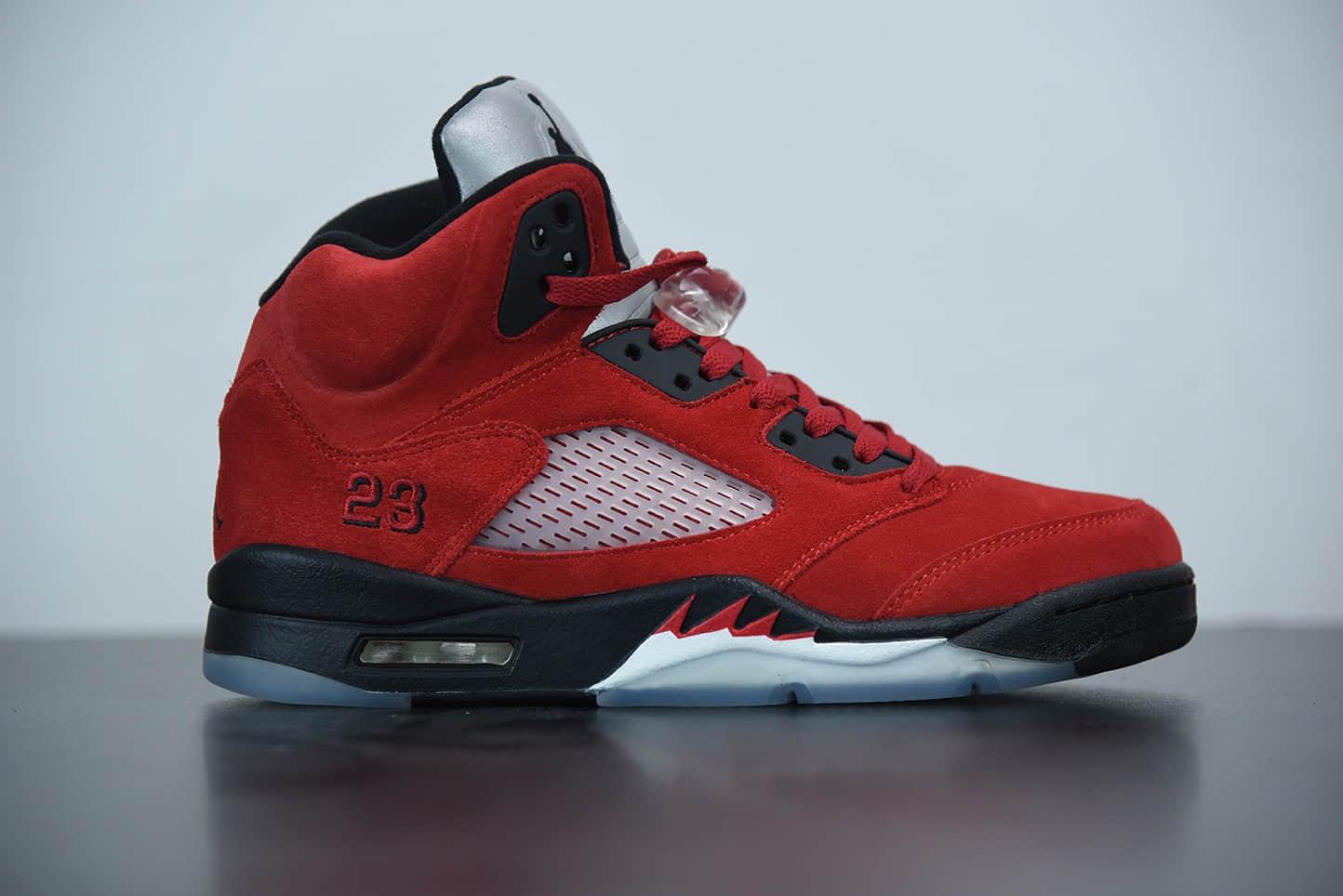 """乔丹Air Jordan 5 """"Raging Bull""""愤怒公牛中帮复古休闲文化篮球鞋纯原版本 货号:DD0587-600"""